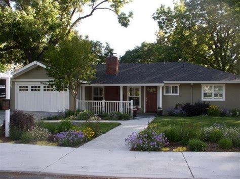 Updating A Ranch Style House Exterior  House Design Plans