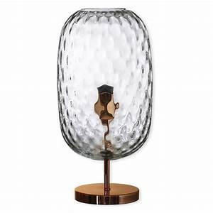 Lampe Haute Sur Pied : lampe en verre sur pied lampe en verre souffl bouche bruno evrard ~ Teatrodelosmanantiales.com Idées de Décoration