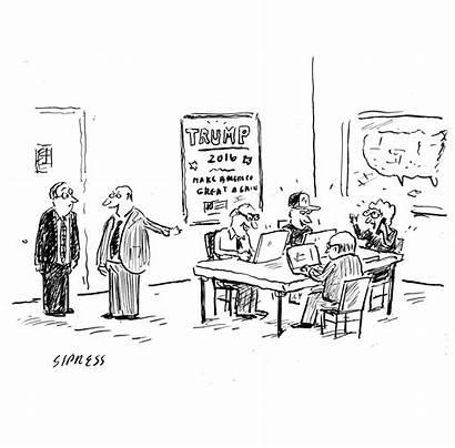 Research Trump Cartoons Opposition Yorker Cartoon Donald