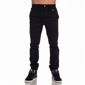 Pantalon Décontracté Homme : sixth june pantalon homme noir tendance et fashion blz jeans ~ Carolinahurricanesstore.com Idées de Décoration
