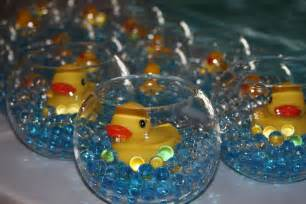 Centerpieces Baby Shower Boy by Rubber Ducks Baby Shower Party Ideas Photo 4 Of 22