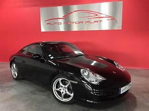 Porsche Carrera Gt Occasion : porsche 911 type 996 carrera 2 noire d 39 occasion auto motor flat lyon ~ Gottalentnigeria.com Avis de Voitures