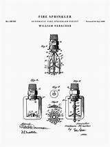 Sprinkler Drawing Fire Patent Getdrawings sketch template