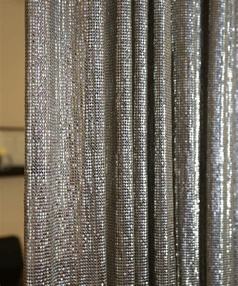 metal mesh fabrics drapery drapery connection