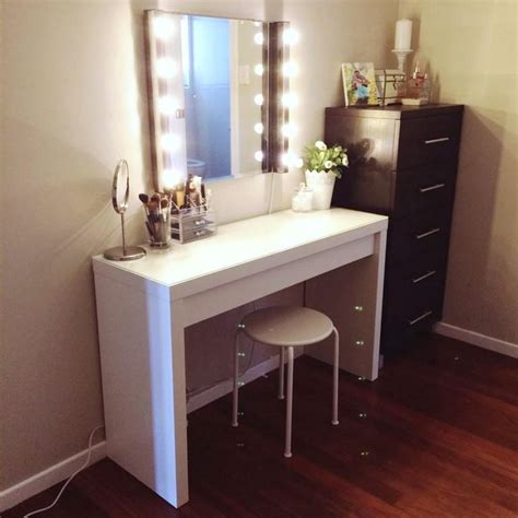 Best 25 Ikea Makeup Vanity Ideas On Desk Diy
