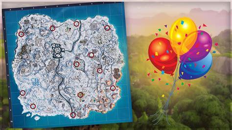 fortnite challenge locaties van de gouden ballonnen