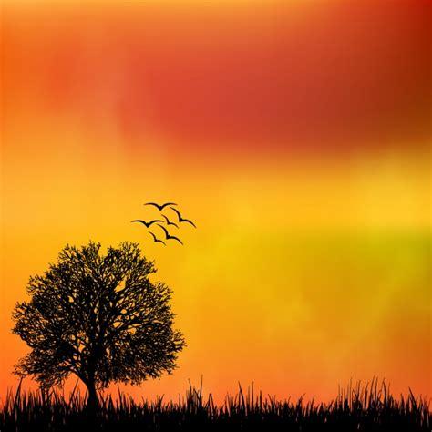 Nature Background Design Vector Free Download