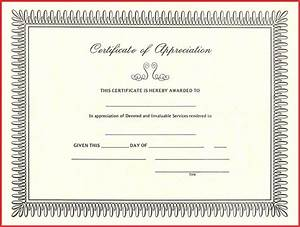 beautiful appreciation certificate templates free excuse With certification of appreciation template