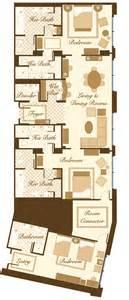 las vegas suite bellagio penthouse suite floorplan 2