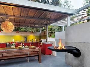 Cheminee D Exterieur Barbecue : le plaisir du feu en ext rieur avec les chemin es outdoor et les barbecues focus ~ Dode.kayakingforconservation.com Idées de Décoration