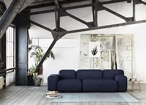 15 inspirations deco en noir joli place With idee couleur mur salon 15 la deco esprit mandala joli place