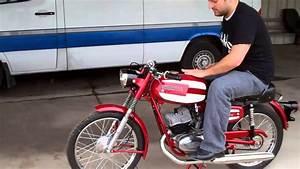 100cc Cimatti Vintage Motorcycle Restoration