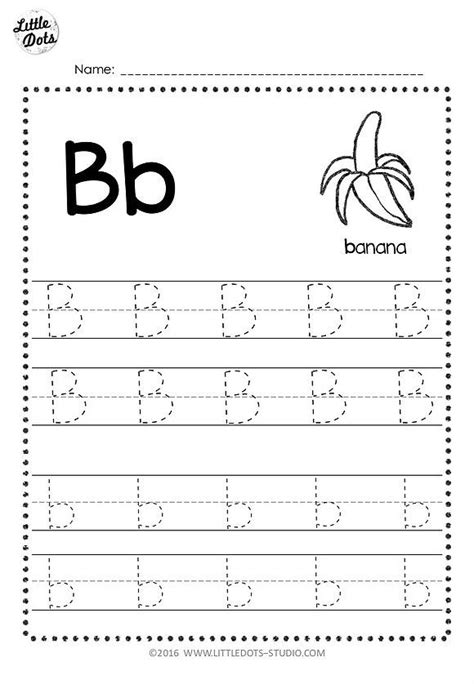single post letter tracing worksheets  printable