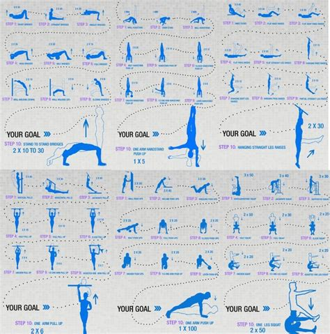 workout conditioning convict prison routine calisthenics workouts pdf weight chart plan training calesthenics body fitness bodyweight programs gym abs progression