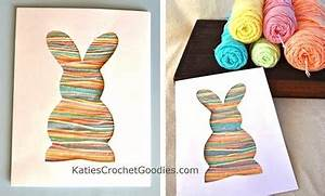 Yarn Bunny Silhouette Toddler Craft Things to Make and