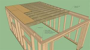 plan garage ossature bois toit plat With delightful maison toit plat bois 5 les 25 meilleures idees de la categorie garage toit plat