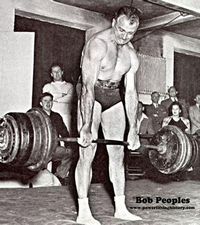 bob peoples speaks pressing  strongman
