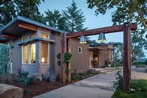 1100 Sq. Ft. Modern Prefab Home in Napa, CA