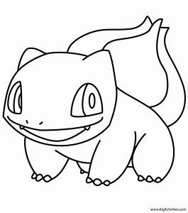 Bulbasaur Coloring Page Pokemon
