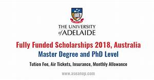 Master degree and Doctoral Research Scholarship in South ...