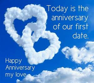 """Happy """"Fir... First Love Anniversary Quotes"""