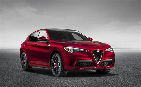 the stelvio is a ferrari suv with an alfa romeo badge
