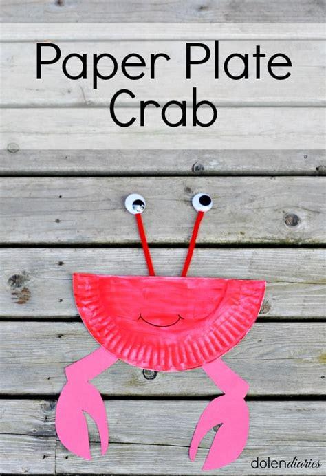 paper plate crab skip   lou