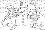 Winter Coloring Pages 509b Printable Info Prints sketch template