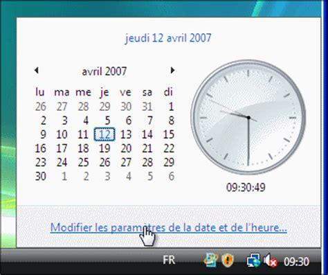 afficher horloge sur bureau windows 7 horloge et calendrier pour ordinateur gratuit