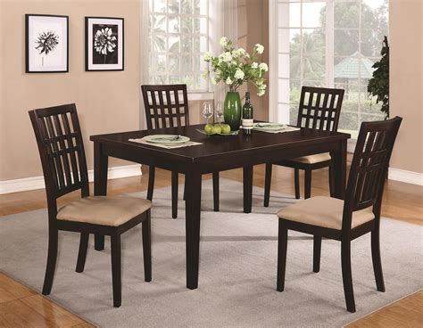casual dining table   contemporary dining