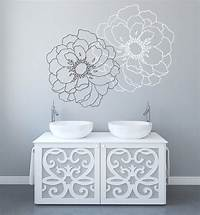 great flower wall decals Modern Flower Wall Decals for Walls Stickers for Walls