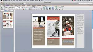 How to make powerpoint brochure youtube for How to create your own powerpoint template 2010