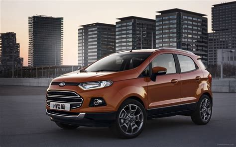 Ford Ecosport 2014 At ford ecosport suv 2014 widescreen car wallpapers