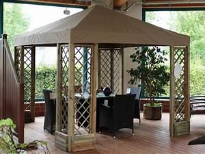 Holz Pavillon 3x3 : pavillon ersatzdach 3 3 meter beige wasserdicht pavillondach mwd ~ Whattoseeinmadrid.com Haus und Dekorationen