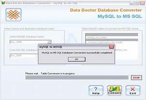 MySql to MSSQL Database Transfer Tool Shareware Version 2 ...