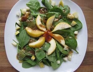 Salat Mit Spinat : spinat birnen salat mit roquefort dressing rezept ~ Orissabook.com Haus und Dekorationen