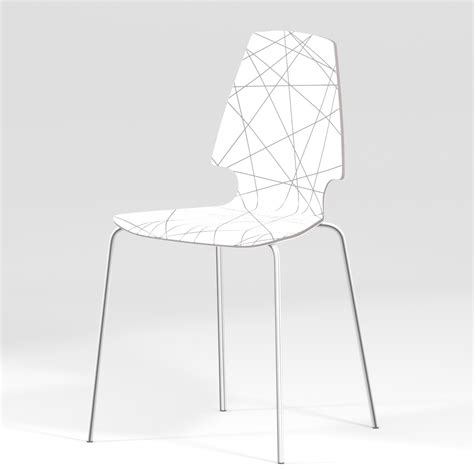 ikea vilmar chair white vilmar chair ikea by cherrywood 3docean
