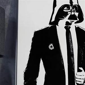 Darth Vader in Suit - Poster – MongoLife