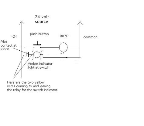 where can i find schematic for a ge low voltage relay rr9p need to see what the two