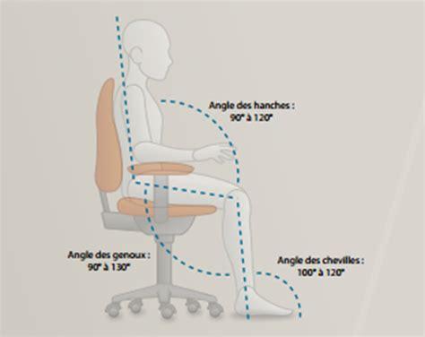 bonne position bureau ergonomie la bonne posture devant pc plusieurs
