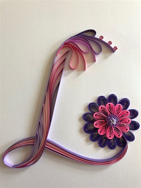quilled letter  paper quilling designs quilling letters quilling designs