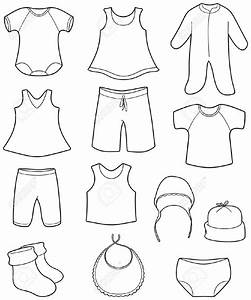 Baby Clothes For Girls Clipart (79+)
