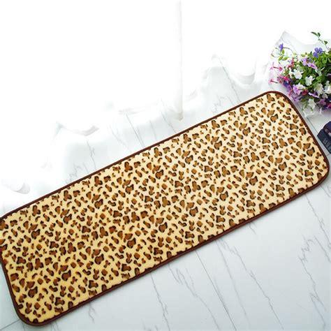 Leopard Doormat by Aliexpress Buy Leopard Print Non Slip Absorbtion