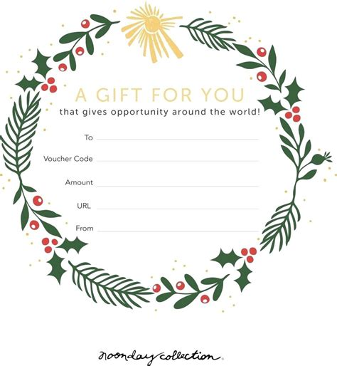Gift Card Template Template Gift Cards Template