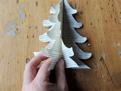 Alberelli di carta per Natale Passion DIY