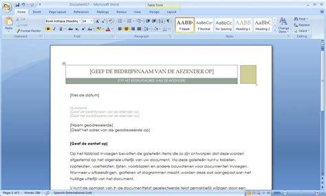 Layout Word by Word 2010 Sjablonen