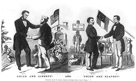 Union And Liberty! And Union And Slavery!