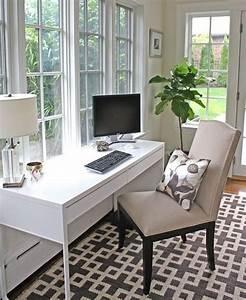 Beautiful, Small, Work, Office, Decorating, Ideas, 17