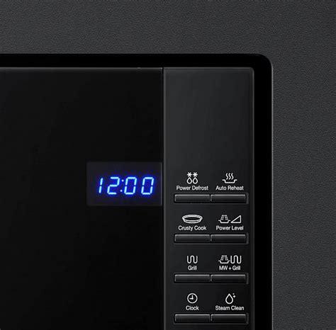 einbau mikrowelle samsung einbau mikrowelle samsung fg87sub 23 liter schwarz mikrowellenherd neu ebay
