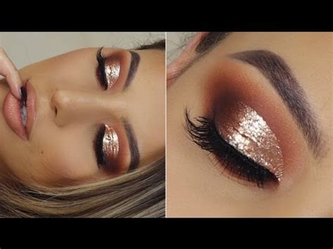 gold bomb af cut crease tutorial youtube